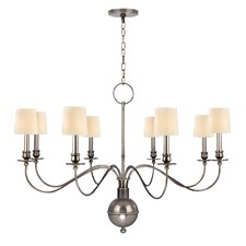 <strong>Hudson Valley Lighting</strong> Cohasset 8 Light Chandelier