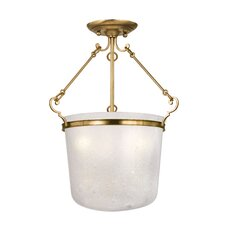 Amenia 3 Light Semi Flush Mount