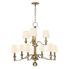<strong>Hudson Valley Lighting</strong> Charlotte 9 Light Chandelier