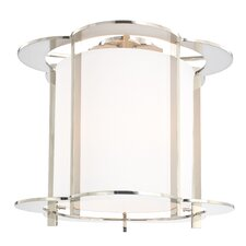 Warwick 5 Light Semi Flush Mount