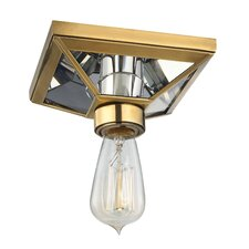 Thurston 1 Light Semi Flush Mount