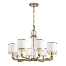 <strong>Hudson Valley Lighting</strong> Rock Hill 8 Light Chandelier
