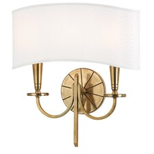 <strong>Hudson Valley Lighting</strong> Mason 2 Light Wall Sconce