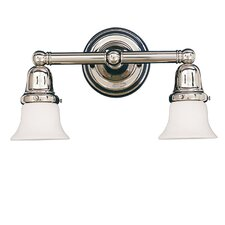 <strong>Hudson Valley Lighting</strong> Historic 2 Light Bath Vanity Light