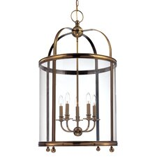 Larchmont 5 Light Foyer Pendant