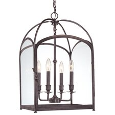 Oxford 4 Light Foyer Pendant