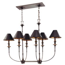 <strong>Hudson Valley Lighting</strong> Jasper 6 Light Island Chandelier