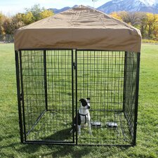 Modular Complete Welded Wire Steel Yard Kennel