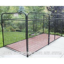 Basic Welded Wire Steel Yard Kennel