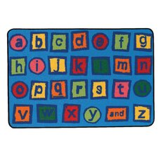 <strong>Kids Value Rugs</strong> Alphabet Blocks Kids Rug