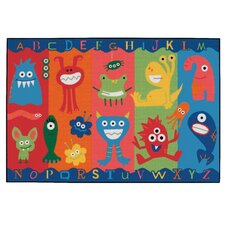Alphabet Monsters Kids Rug