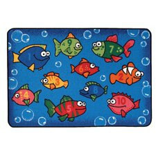 <strong>Kids Value Rugs</strong> Something Fishy Kids Rug