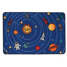 <strong>Kids Value Rugs</strong> Spaced Out Kids Rug