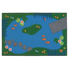 <strong>Kids Value Rugs</strong> Tranquil Pond Kids Rug