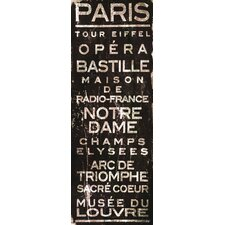 Paris Canvas Art
