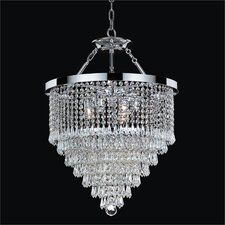 <strong>Glow Lighting</strong> Spellbound 3 Light Duo Mount Chandelier