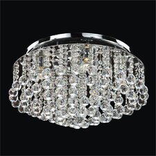 Prestige 4 Light Flush Mount