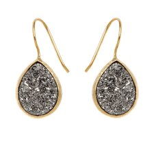 Drucy Cushion Cut Pear Shaped Drop Earring