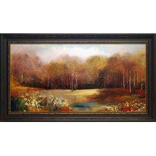 'Park Garden' by Allison Pearce Framed Painting Print