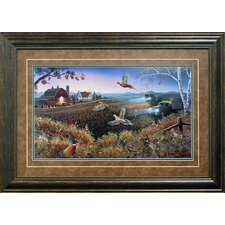 <strong>North American Art</strong> Evening Harvest Framed Art