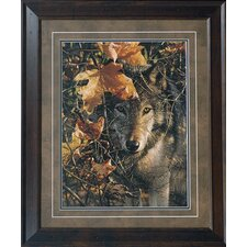 <strong>North American Art</strong> Autumn Eyes Framed Art