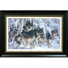 'Crystal Forest' by Larry Fanning Framed Painting Print
