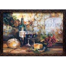 'LeChateau' by Marilyn Hageman Framed Painting Print