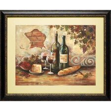 <strong>North American Art</strong> Bountiful Wine II Frame Art