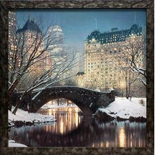 <strong>North American Art</strong> Twilight in Central Park Framed Art
