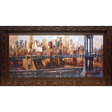 <strong>North American Art</strong> Manhattan Bridge View Wall Art