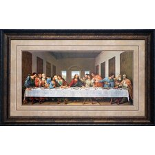 'Last Supper' by Leonardo DaVinci Framed Painting Print