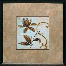 'Floral Souvenir II' by Okre Framed Painting Print