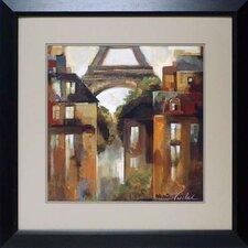 'Paris Late Summer I' by Silvia Vassileva Framed Painting Print