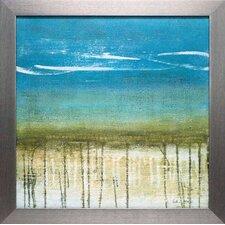 Shoreline Memories II by Heather McAlpine Framed Painting Print
