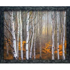 <strong>North American Art</strong> Aspen in Fog Wall Art