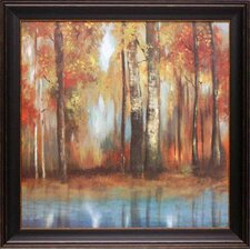 'Indian Summer I' by Allison Pearce Framed Painting Print