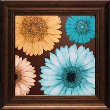 <strong>North American Art</strong> Daisy Quartet I Wall Art