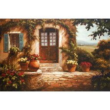 'Pastoral Retreat' by Steven Harvey Painting Print on Canvas
