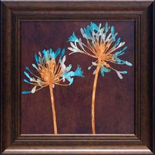<strong>North American Art</strong> Teal Bloom II Wall Art
