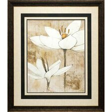 'Pencil Floral I' by Avery Tillmon Framed Painting Print