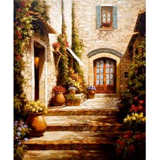 Sun in the Entryway by Steven Harvey Painting Print on Canvas