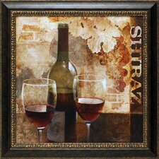 Shiraz by Keith Mallet Framed Graphic Art