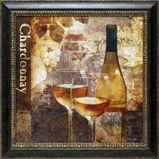 <strong>North American Art</strong> Chardonnay Wall Art