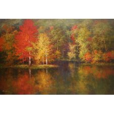 Crystal Waters by Robert Barnes Painting Print on Canvas