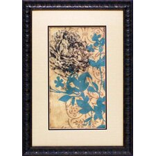 Serene Blossom II by Jennifer Goldberger Framed Graphic Art