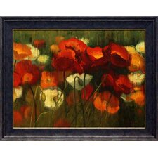 The Power of Red II by Shirley Novak Framed Painting Print