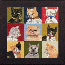 <strong>North American Art</strong> Nine Lives Wall Art
