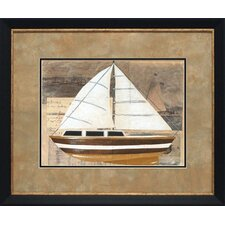 Tour by Boat I by Chaiklia Zarris Framed Graphic Art