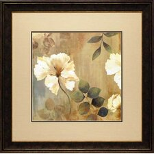 'Golden Space I' by Asia Jensen Framed Painting Print