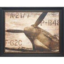 Vintage Airplane by Dylan Matthews Framed Graphic Art